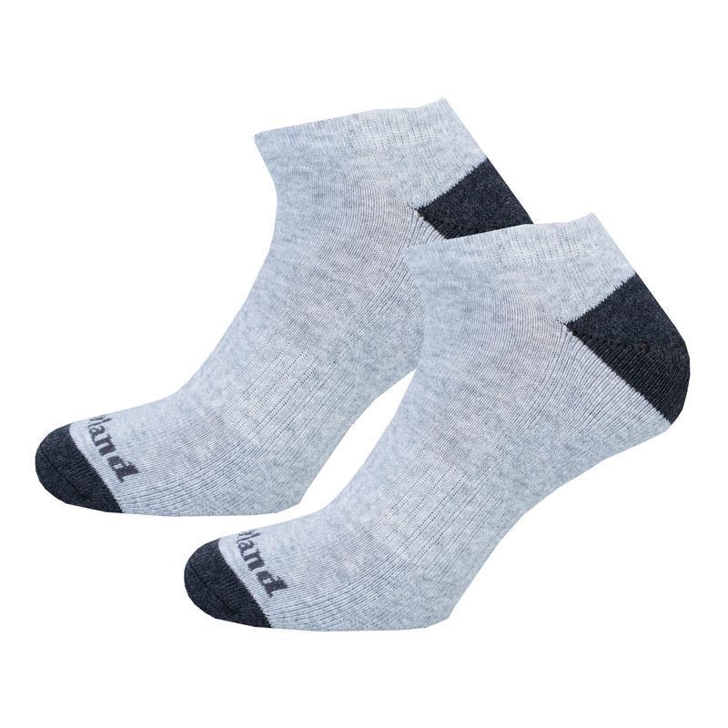 Ponožky Timberland Mens 2 Pack No Show Socks Grey