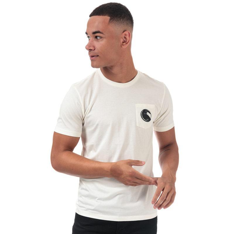 Tričko C.P. Company Mens Printed Goggle T-Shirt White