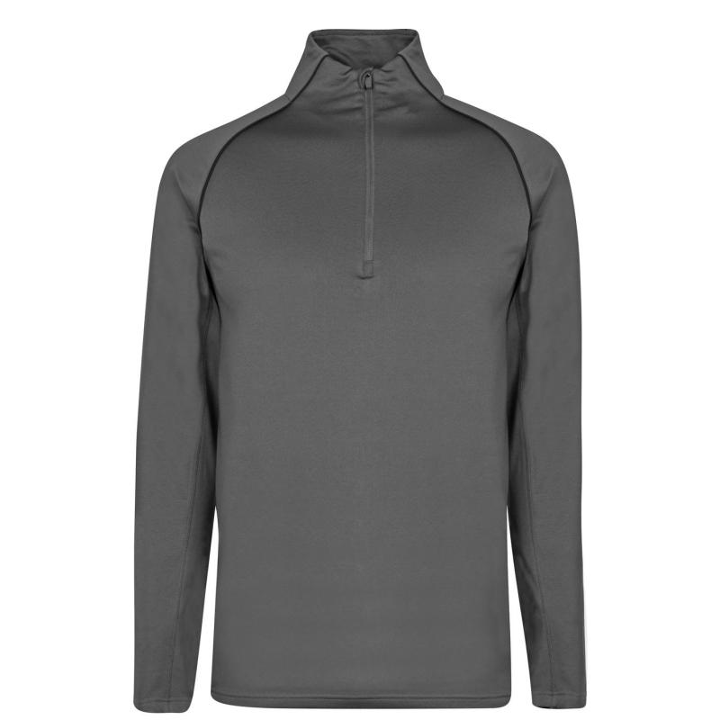 Nevica Vail Zip Top Mens Charcoal