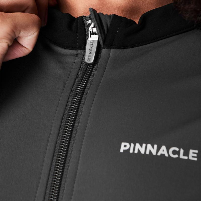 Pinnacle Thermal Long Sleeve Cycling Jersey Ladies Raven
