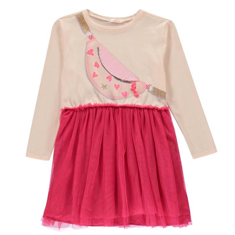 Šaty Billieblush Bag Dress Pale Pink 45X