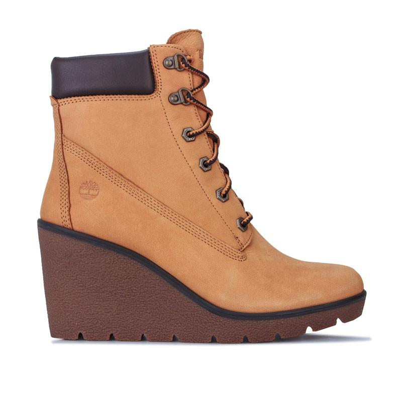 Timberland Womens Paris Height 6 Inch Boots Wheat