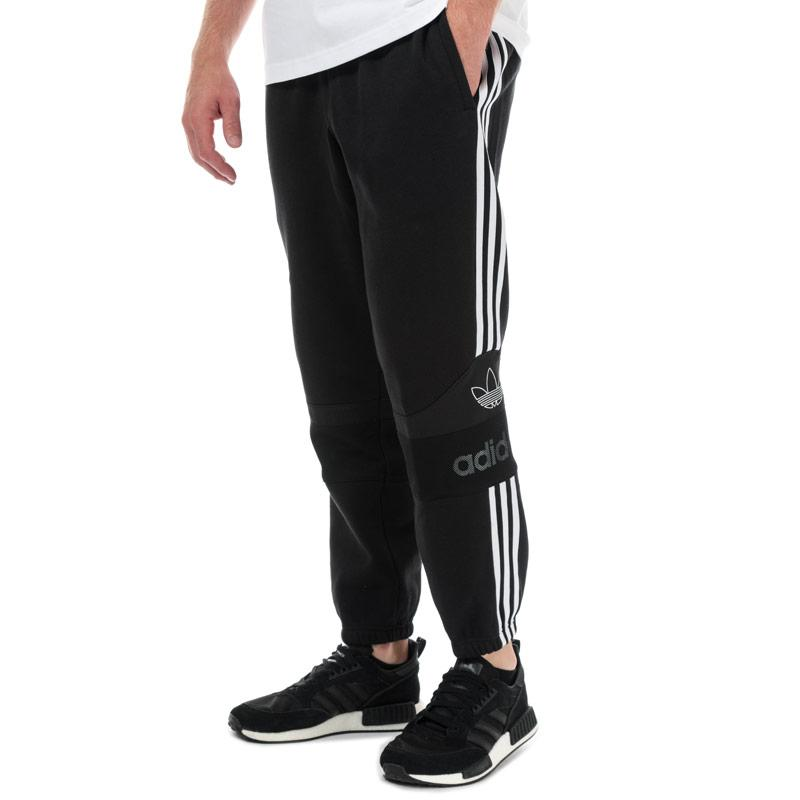 Tepláky Adidas Originals Mens Team Signature Trefoil Jog Pants Black