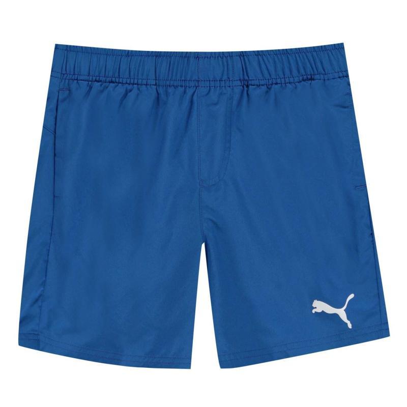 Kraťasy Puma Essential Logo Shorts Junior Boys Turkish Sea