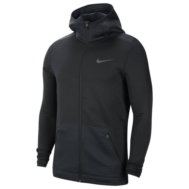 Nike NPC Zip Hoodie Mens BLACK/BLACK/IRON GREY