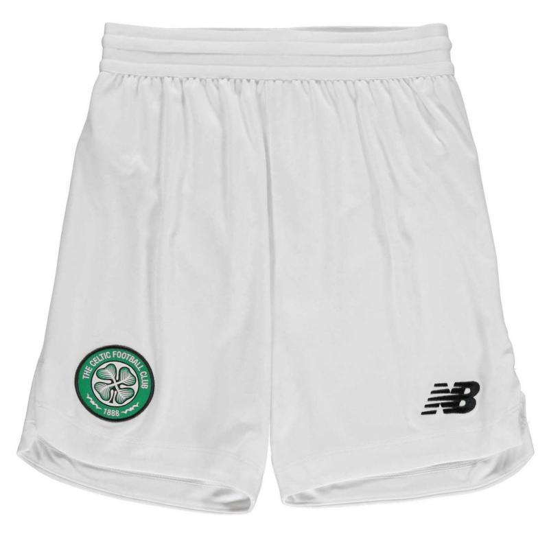 New Balance Balance Celtic FC Home Shorts Child Boys Home