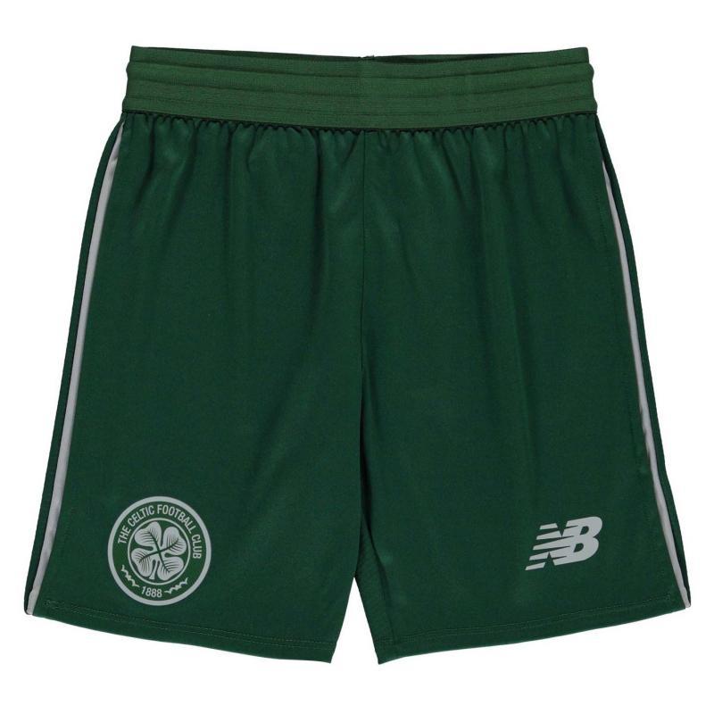New Balance Celtic Football Club Training Shorts Child Boys Eden