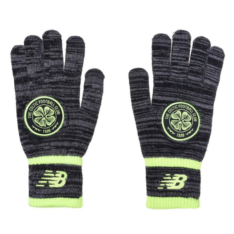New Balance Knit Glove Mens Black