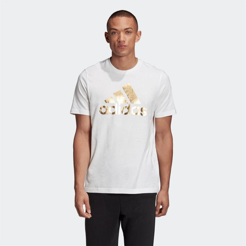 Tričko adidas Athletics Graphic T-Shirt Men White