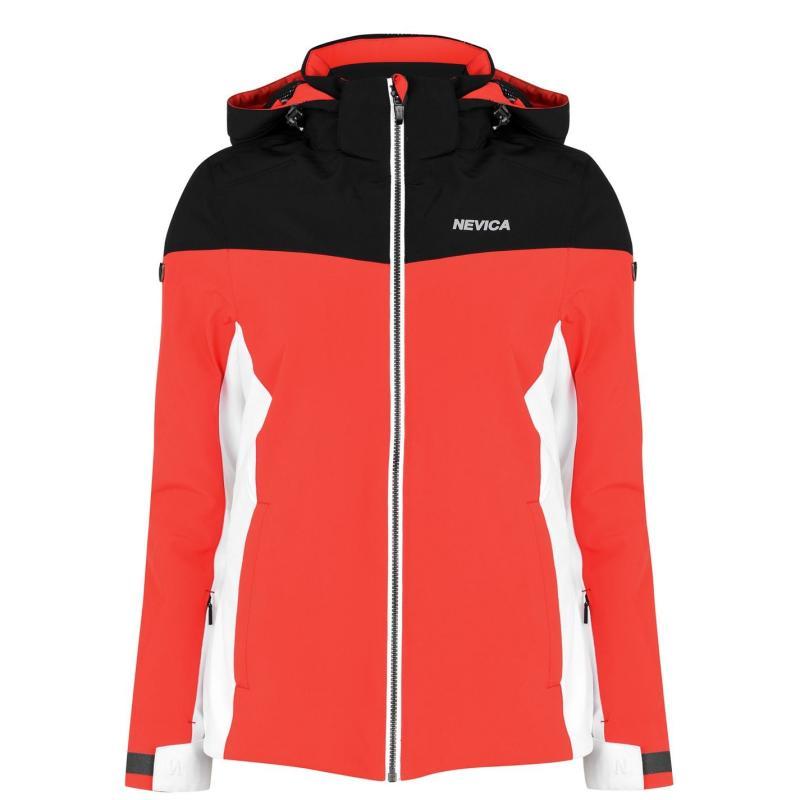 Nevica Vail Ski Jacket Ladies Black/Red
