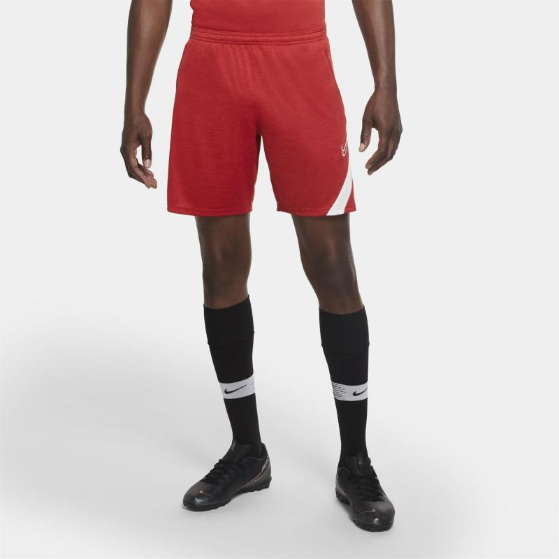 Nike Dri-FIT Academy Football Shorts Mens GYM RED/HTR/WHITE/WHITE