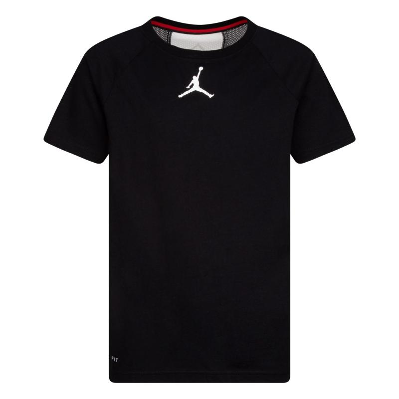 Tričko Air Jordan Perform Tee JB10 Black