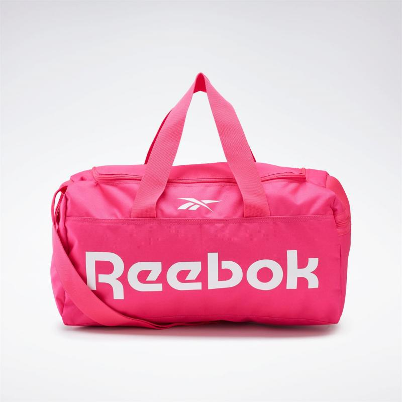 Reebok Active Core Grip Duffle Bag Small Proud Pink
