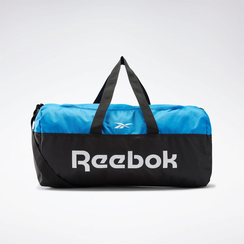 Reebok Active Core Grip Duffle Bag Medium Black / Horizon Blue