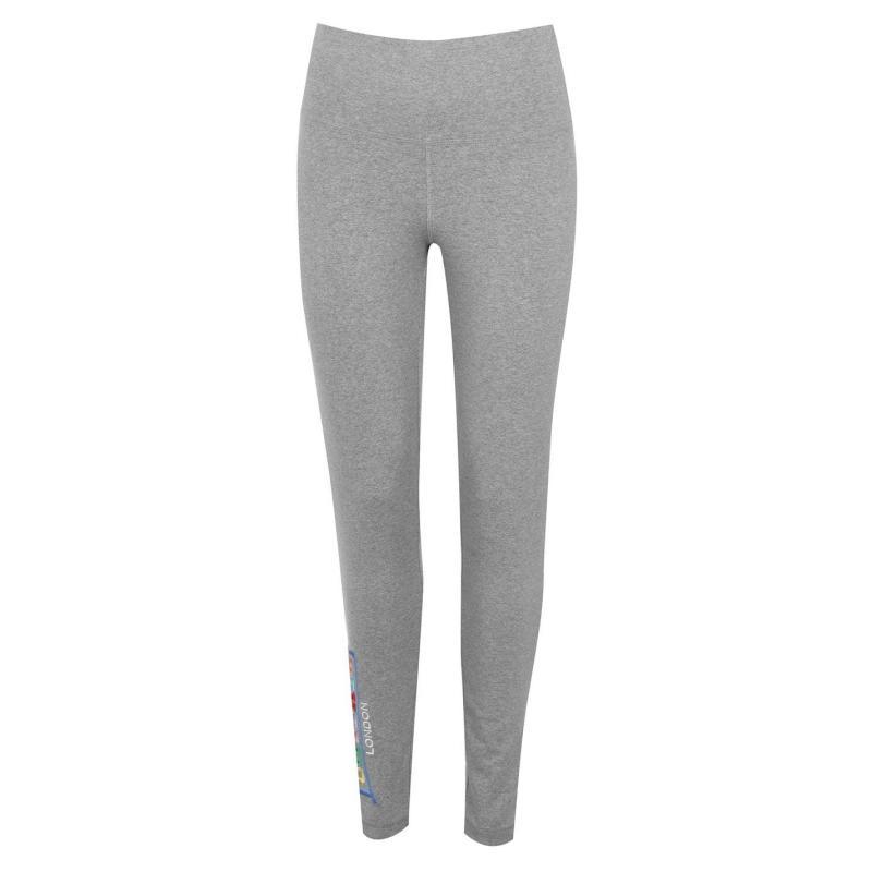 Legíny Lonsdale RCY Leggings Ladies Grey Marl
