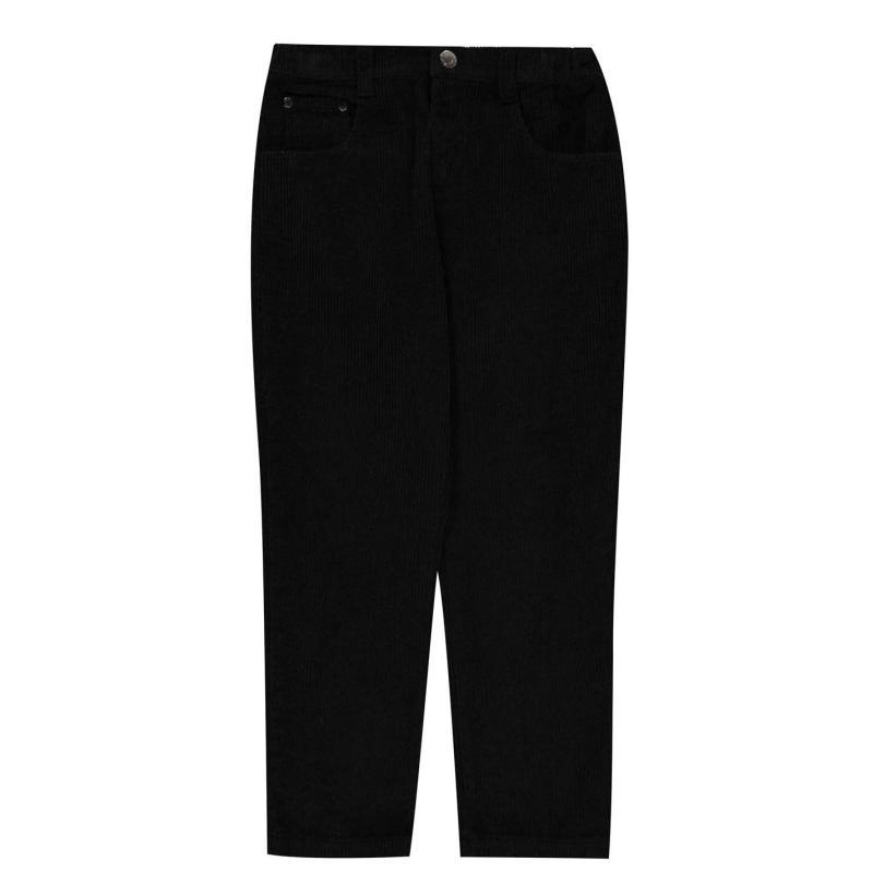 Kalhoty Firetrap Cord Trousers Black