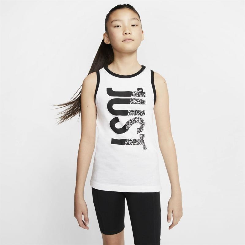 Tílko Nike JDI Beach Tank Top Junior Boys White