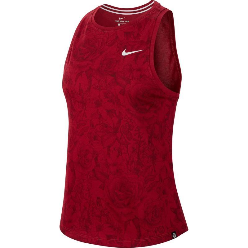 Nike England Pre Season Tank Top Ladies Red