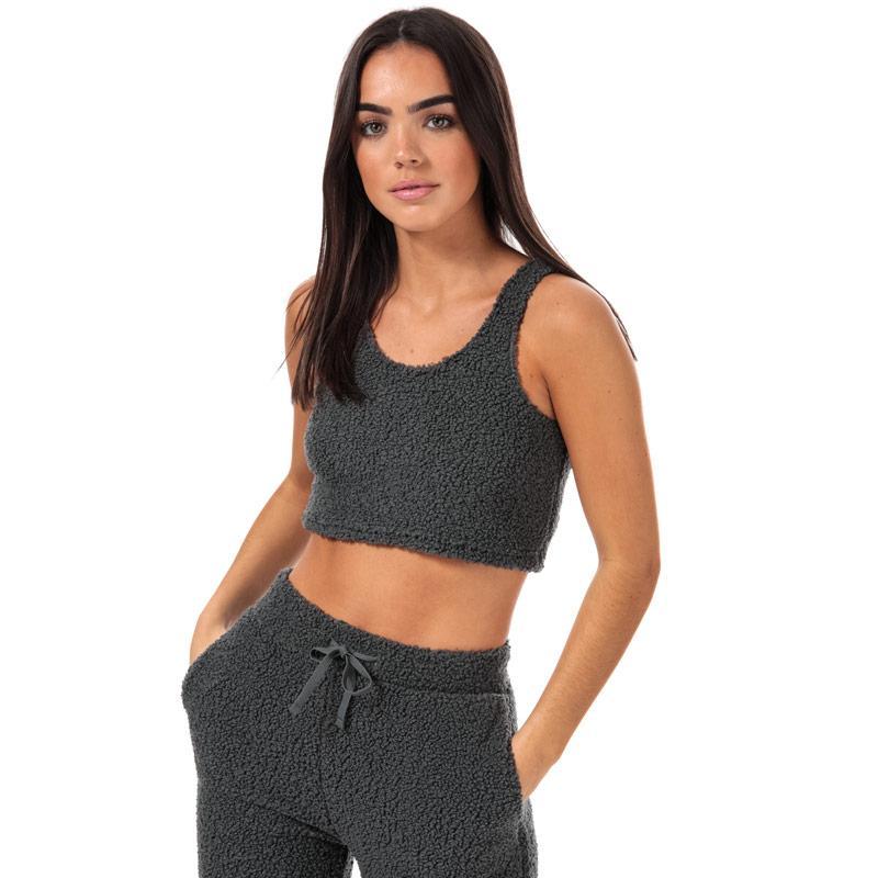 Pyžama Brave Soul Womens High Waist Lounge Set Slate grey