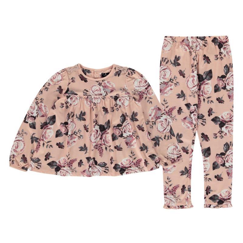 Firetrap Pyjama Set Infant Girls Blush Floral