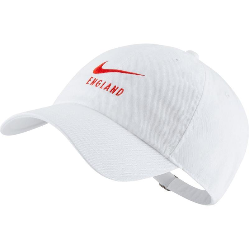 Nike England Adults Cap White