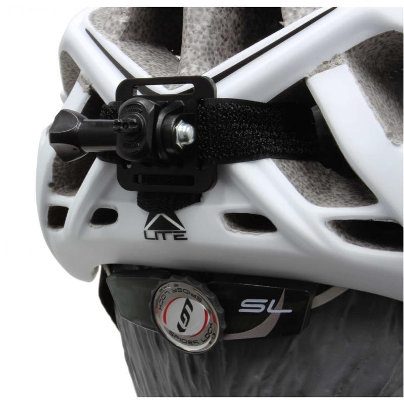 FWE Helmet Bracket For 80 Lumen Front/15 Lumen Rear USB Light