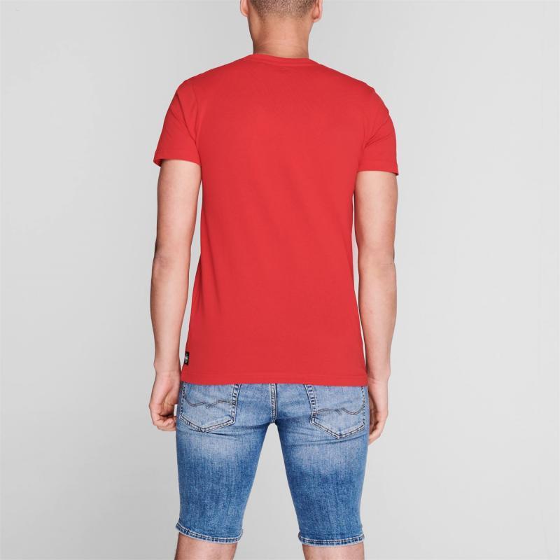 Tričko Hot Tuna Crew T Shirt Mens Red Logo