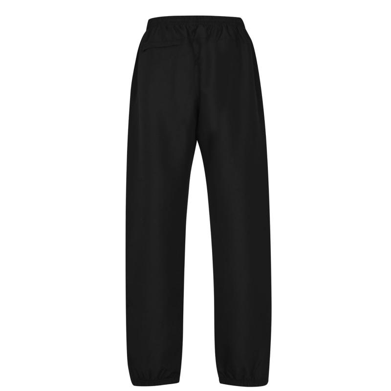 Tepláky Lonsdale Closed Hem Woven Pants Mens Black
