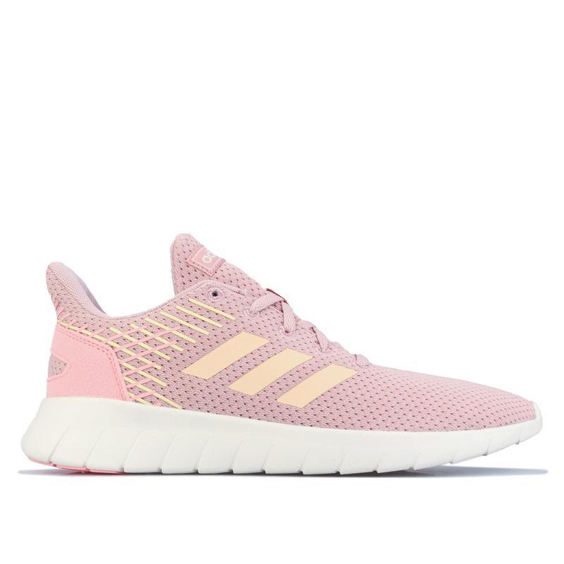 Adidas Womens Asweerun Running Shoes Pink