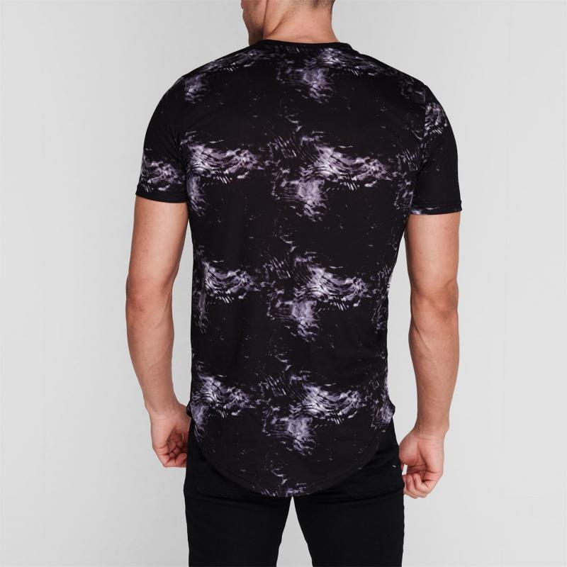 Tričko Level 1 Pennin T Shirt Mens Anthracite