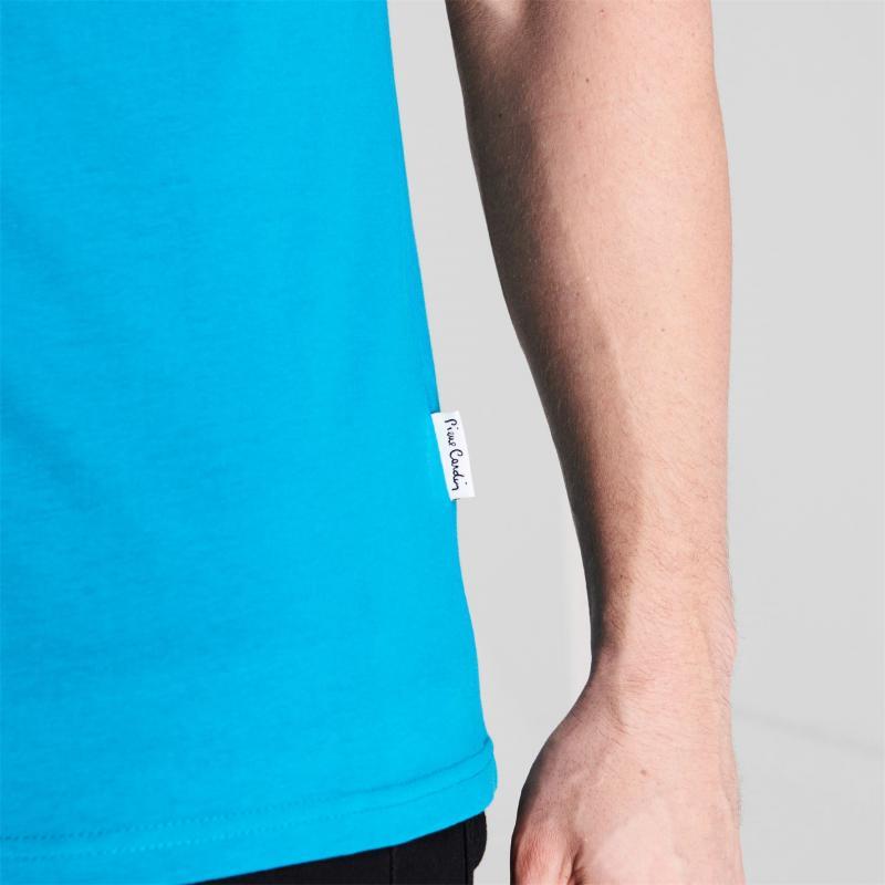 Tričko Pierre Cardin C Logo T Shirt Mens Bright Teal