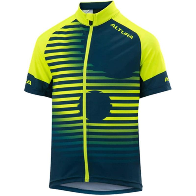 Altura Youth Icon Short Sleeve Tokyo Jersey Yellow