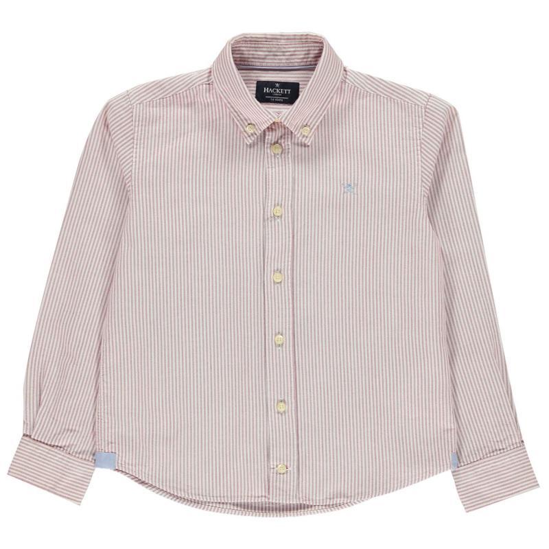 Košile Hackett Bengal Shirt White 5BM