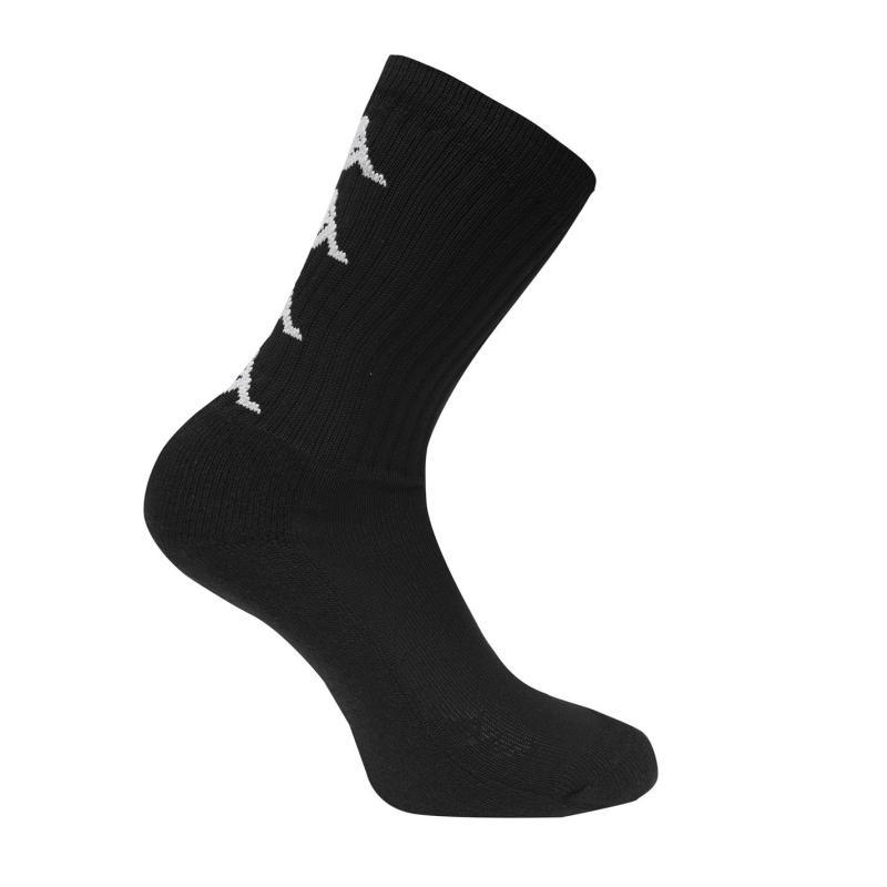 Ponožky Kappa 3 Pack Authentic Amal Socks Black/White
