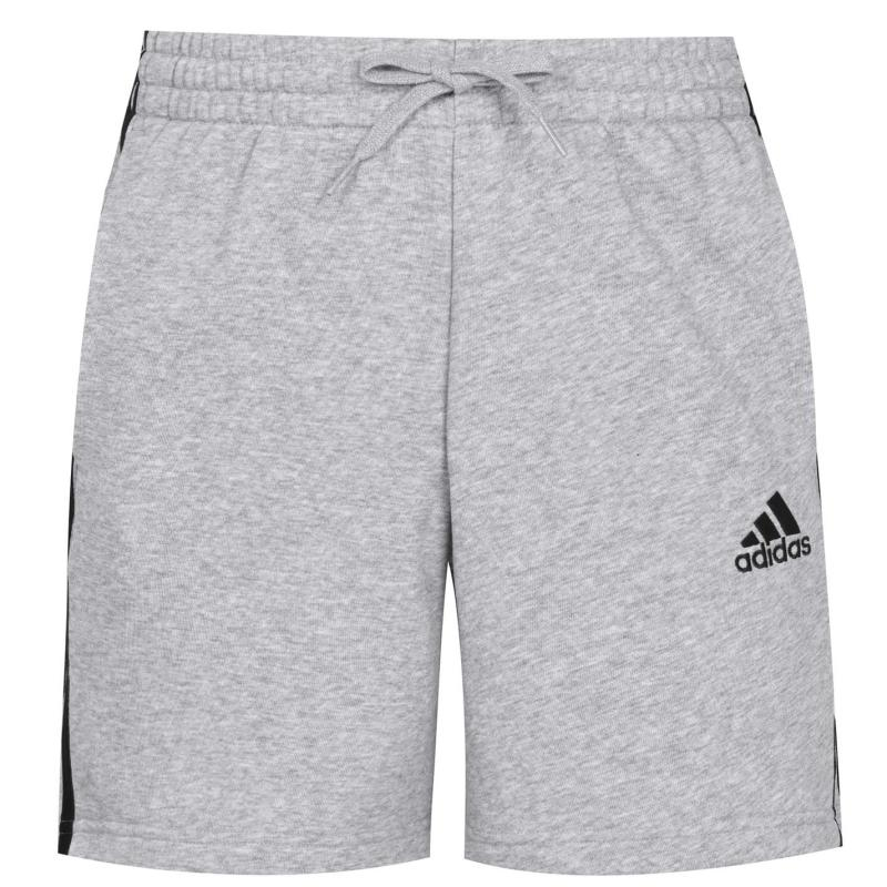 Adidas Essentials French Terry Shorts Mens Grey/Black
