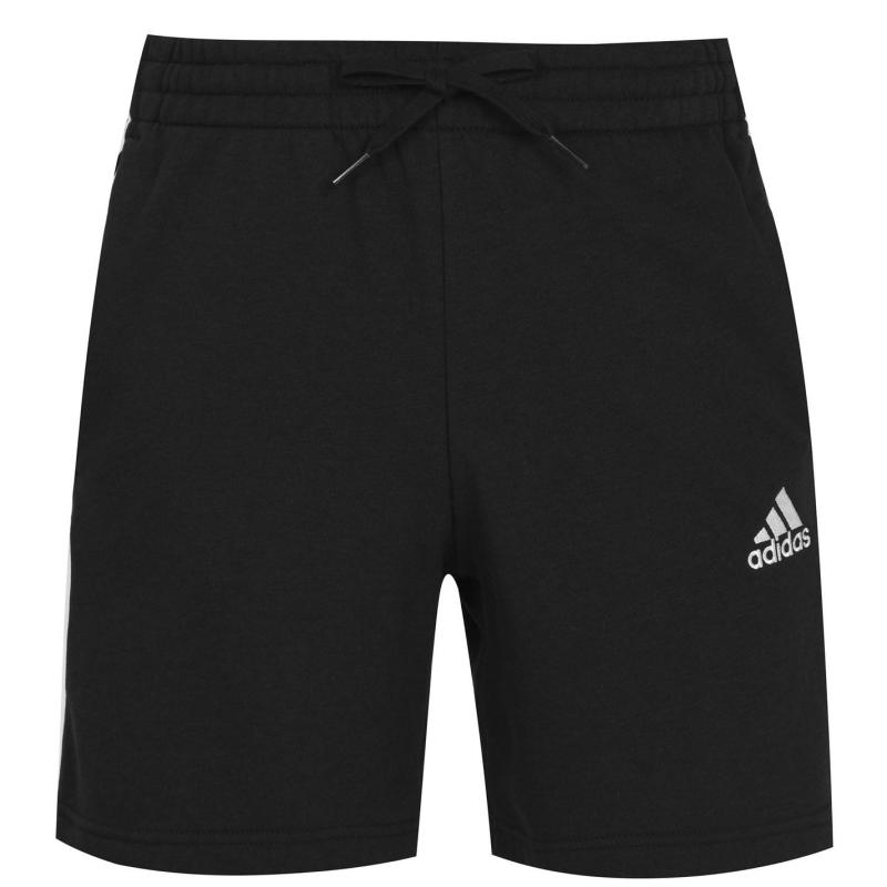 Adidas Essentials French Terry Shorts Mens Black/White
