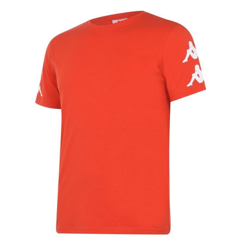 Tričko Kappa Essential T Shirt Red