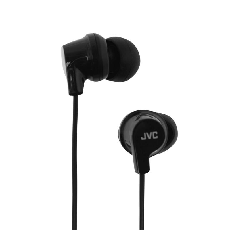 JVC Powerful Sound Earphones Black