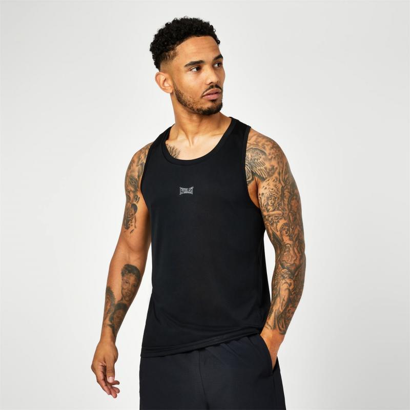 Everlast Polyester Vest Black