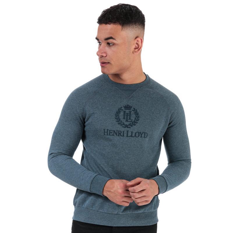 Mikina Henri Lloyd Mens Sweatshirt Blue