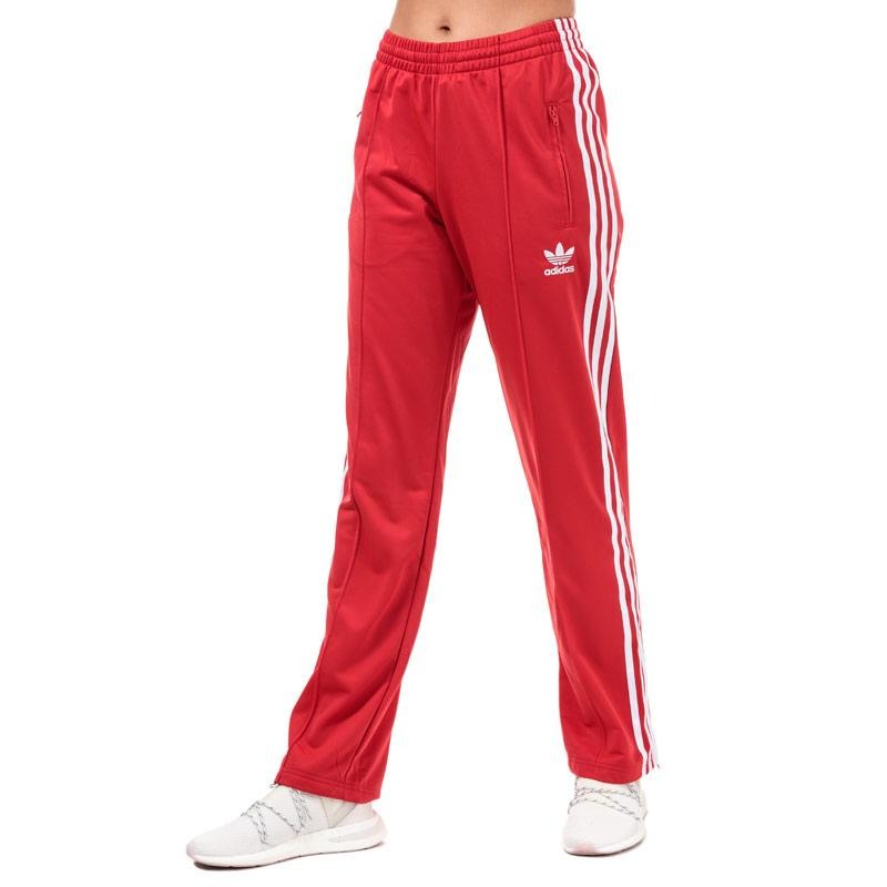 Sportovní kalhoty Adidas Originals Womens Firebird Track Pants red white