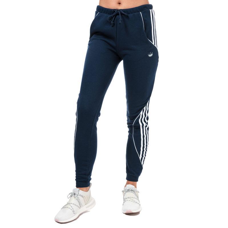Sportovní kalhoty Adidas Originals Womens Jog Pants Indigo