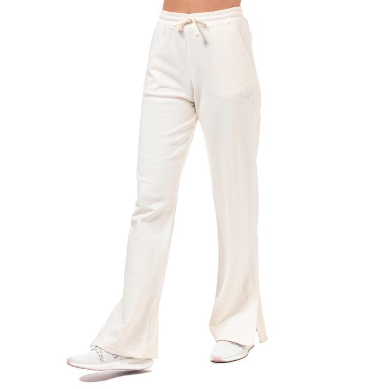 Sportovní kalhoty Adidas Originals Womens Jog Pants Chalk