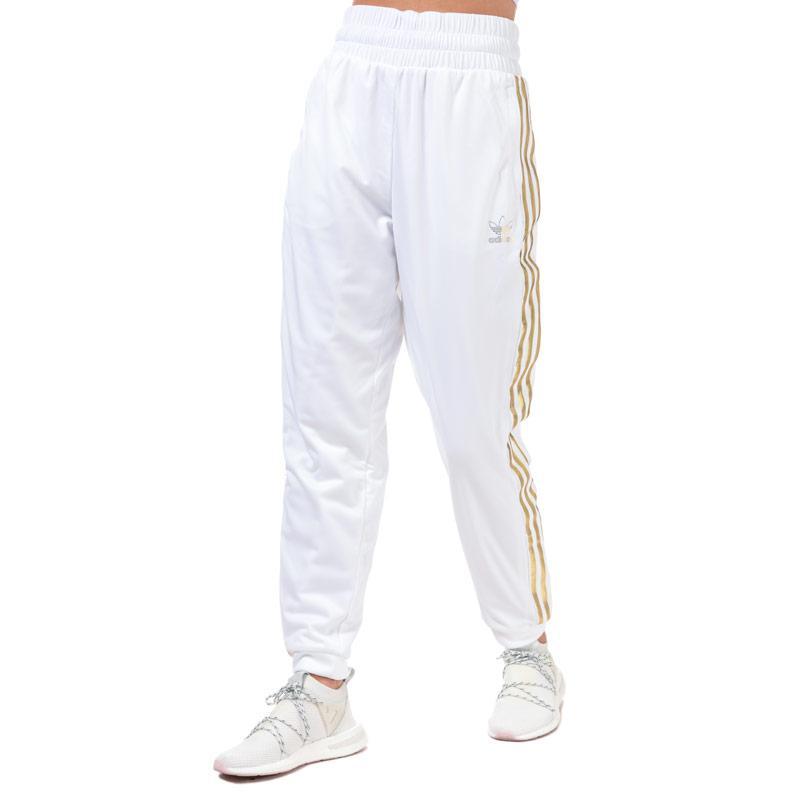 Sportovní kalhoty Adidas Originals Womens SST 2.0 Tracksuit Bottoms White
