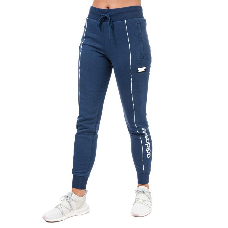 Sportovní kalhoty Adidas Originals Womens Tracksuit Bottoms Indigo