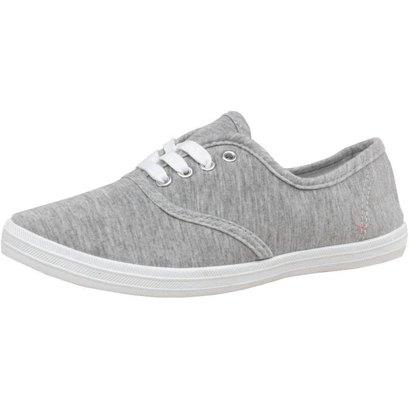Boty Mad Wax Junior Canvas Pumps Grey Marl