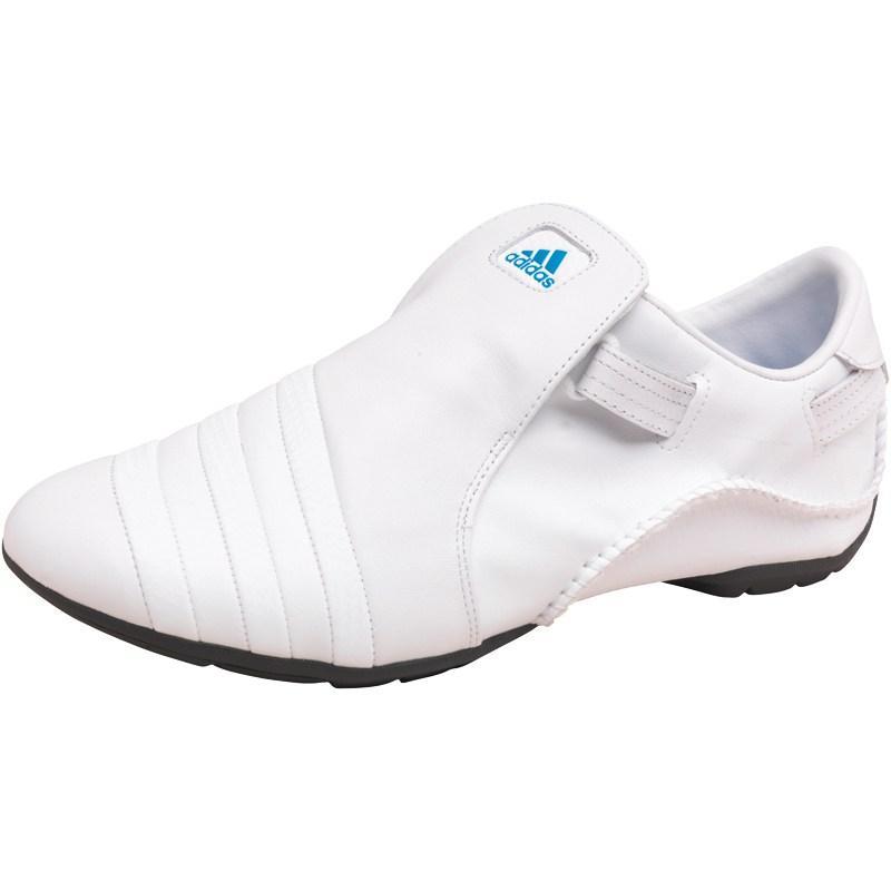 Boty adidas Mens Mactelo Trainers White/White/Blue