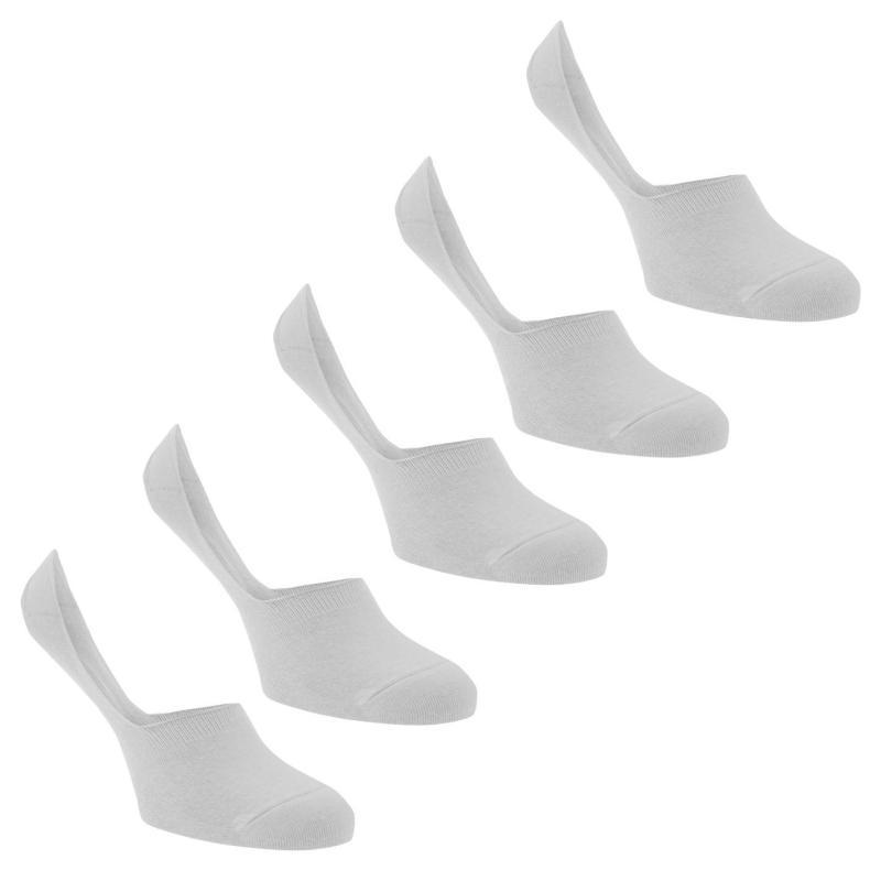 Ponožky Soviet 5 Pack of Secret Socks White