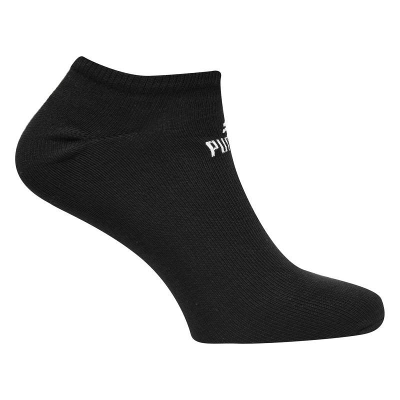 Ponožky Puma 3 Pack Trainer Socks Black
