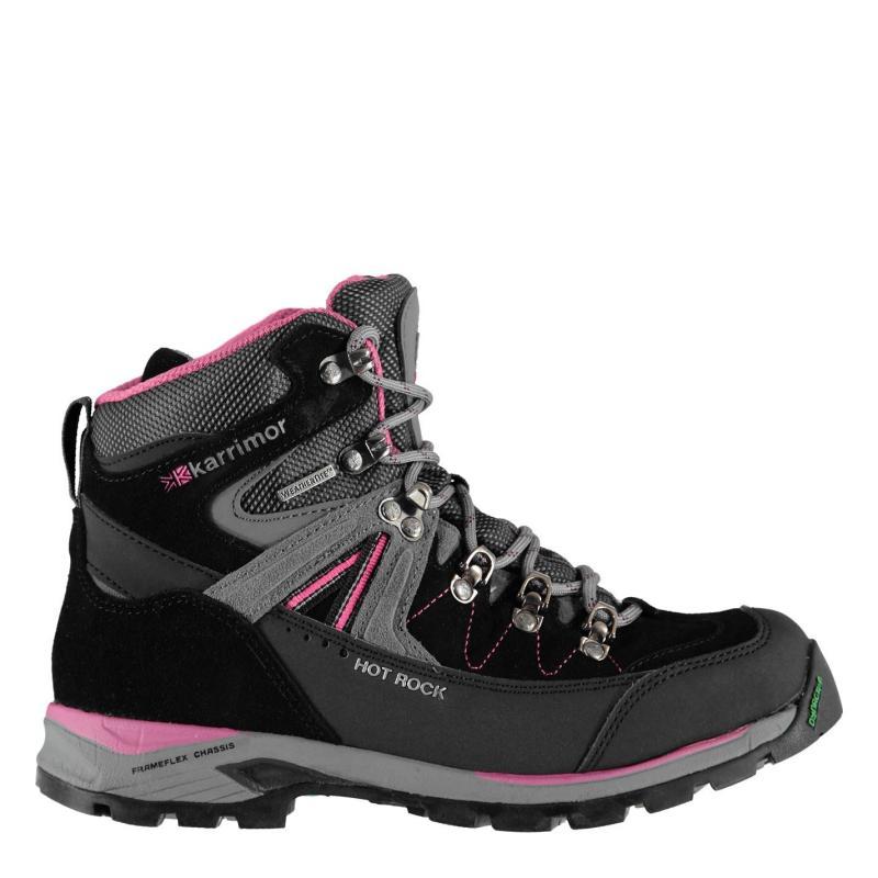 Boty Karrimor Hot Rock Ladies Walking Boots Black/Pink